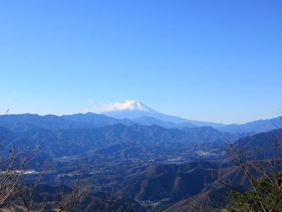 ロング登山日帰り40kmの富士山の景色