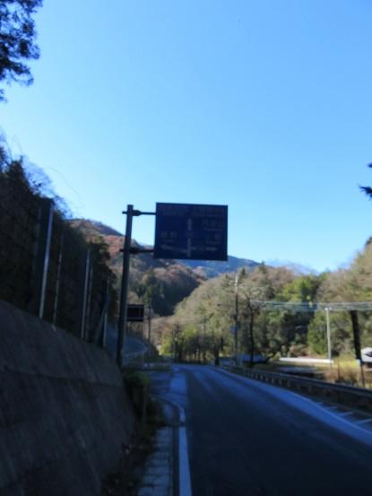 浅間峠から33号線へのルート