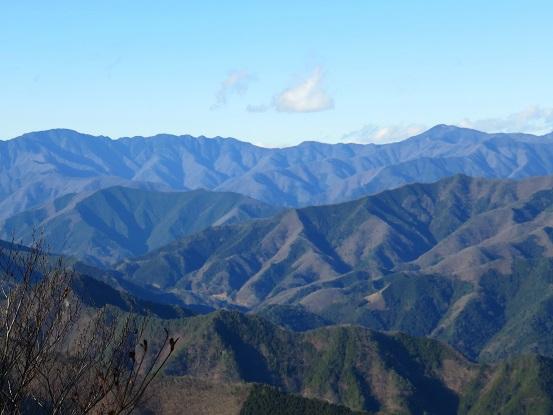 雲取山・飛龍山の景色
