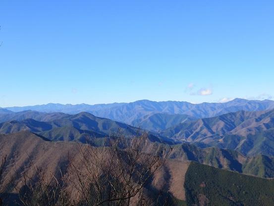 権現山山頂の様子