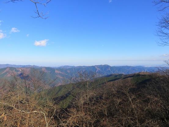 ロング登山で40kmルートの景色