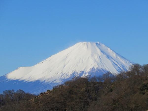 木ノ又小屋富士山