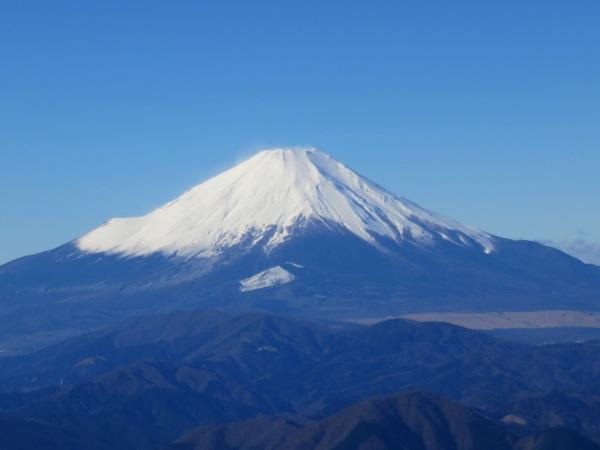 丹沢マニアックルート富士山