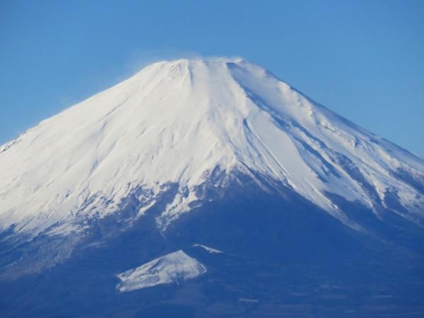 富士山の山頂は風が強そう