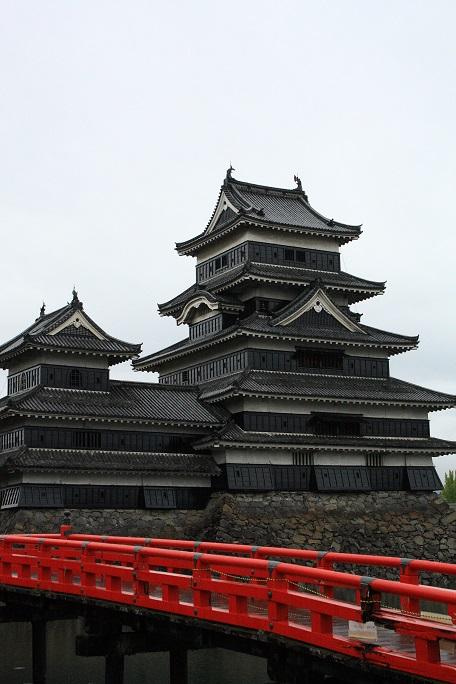 松本城の石垣