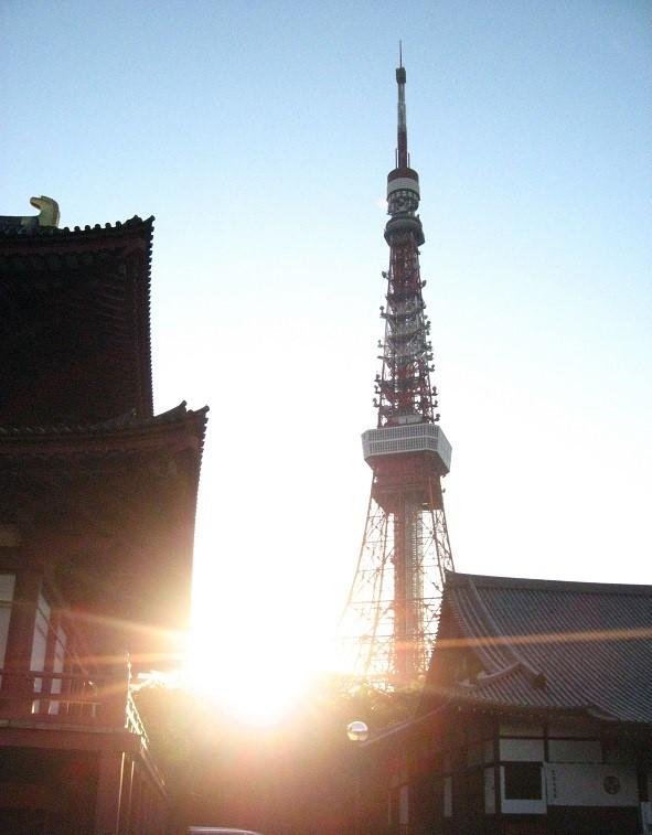 増上寺東京タワー