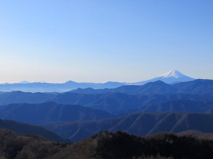鷹ノ巣山からの富士山