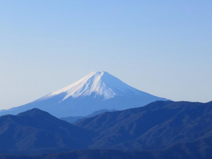 大寺山・鹿倉山からの富士山