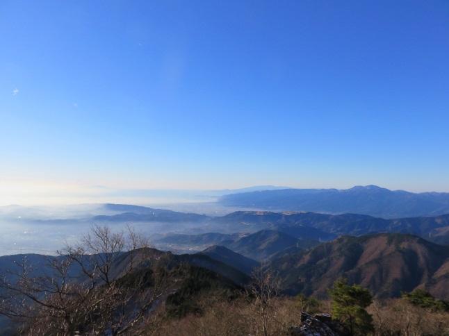 花立山荘朝靄