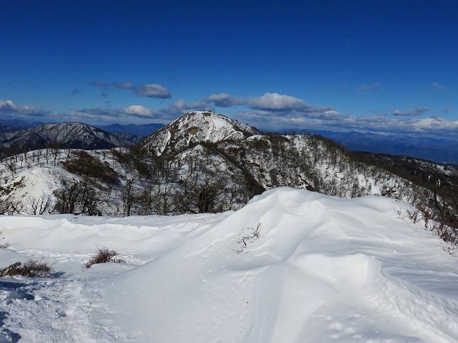 目指す蛭ヶ岳