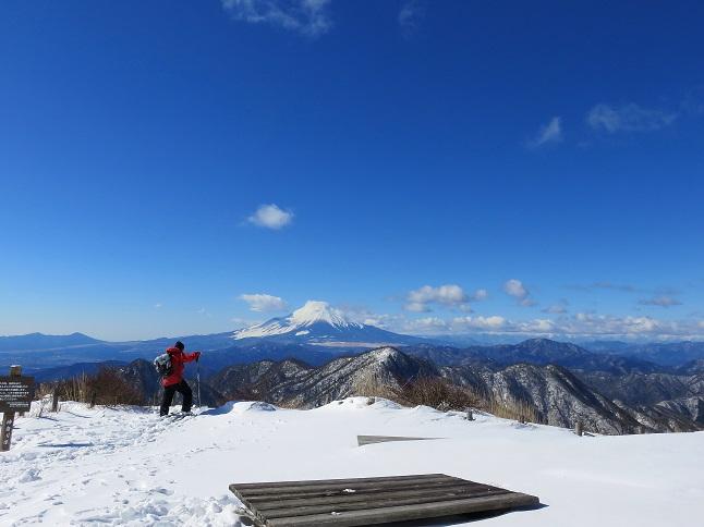 蛭ヶ岳から檜洞丸方面