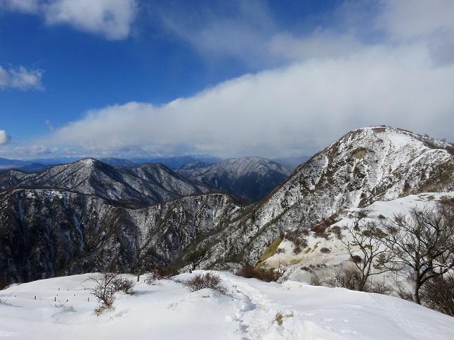 蛭ヶ岳の景色