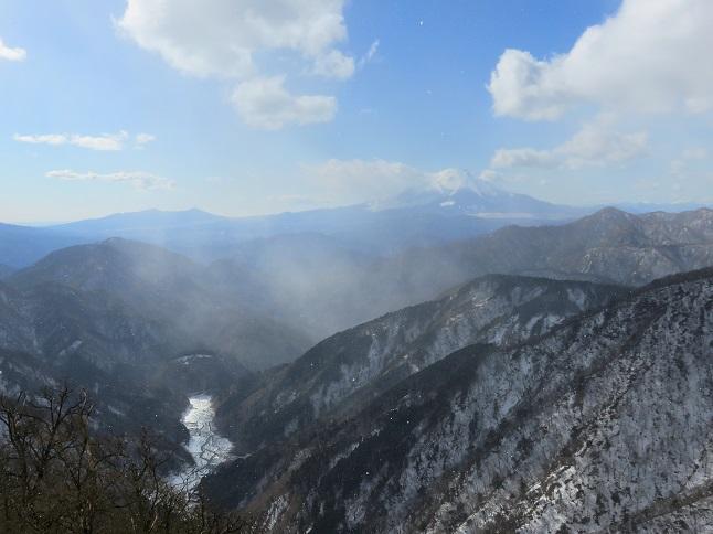 富士山山頂景色