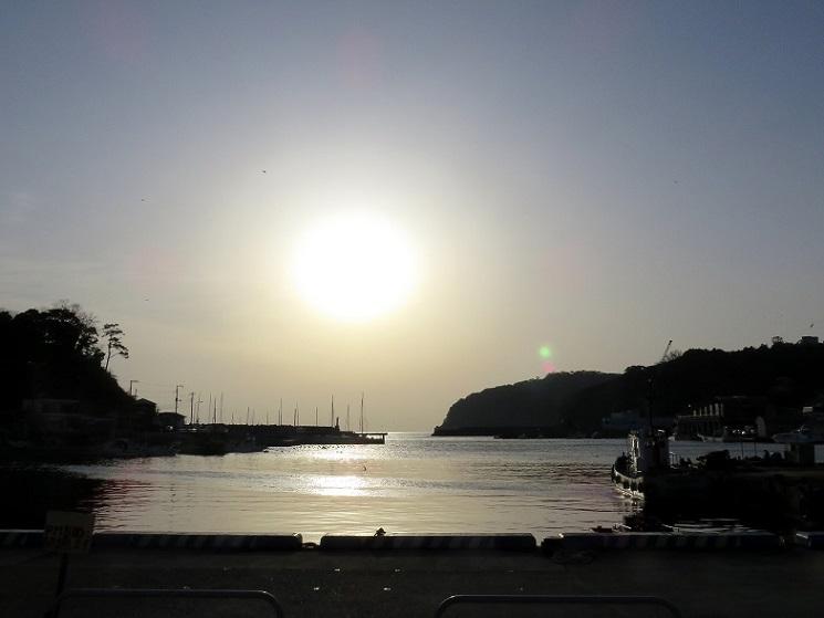真鶴港の景色