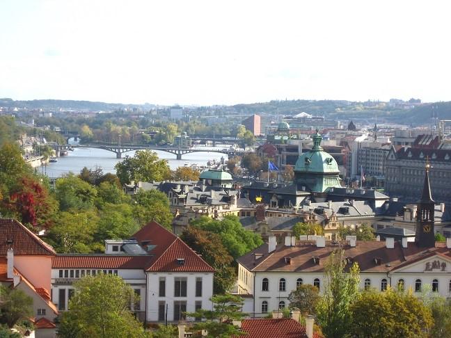 チェコプラハの街並み