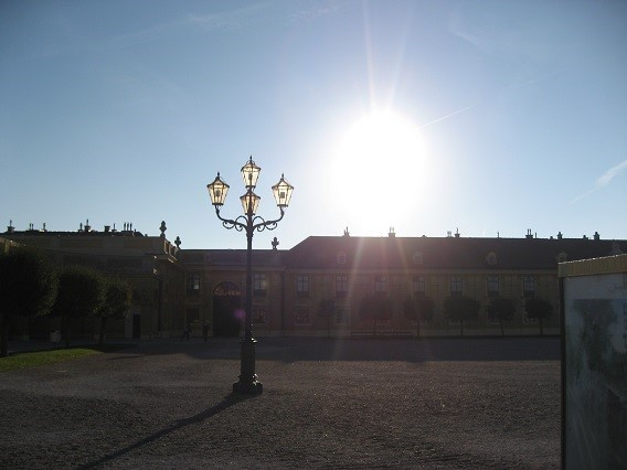 チェスキークルムロフ中庭