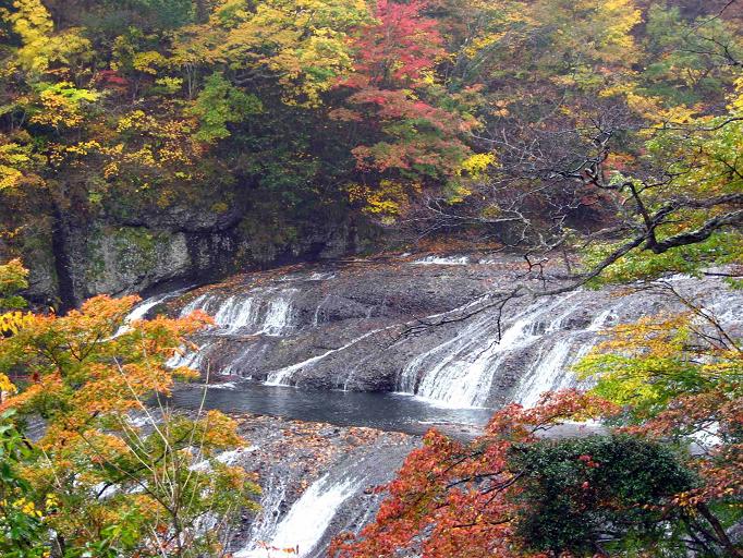 袋田の滝上流
