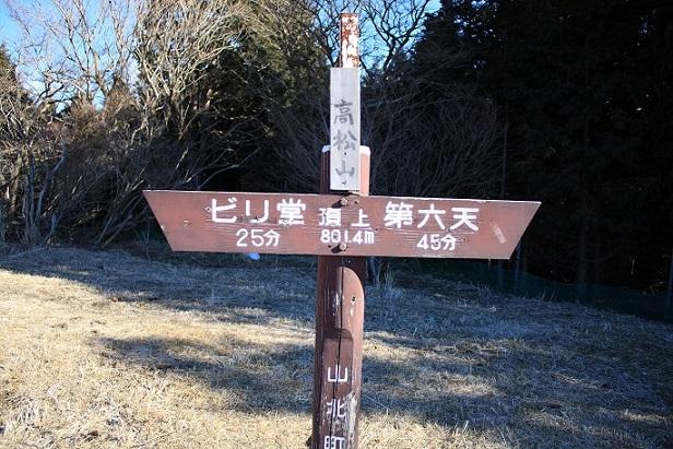 高松山の山頂