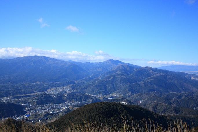 箱根の外輪山