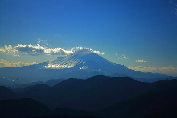 三ノ塔からも素晴らしい富士山景色