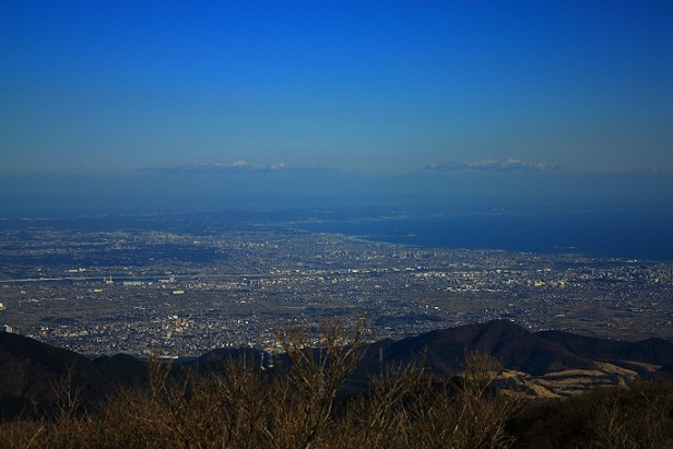 三ノ塔の山頂からの景色
