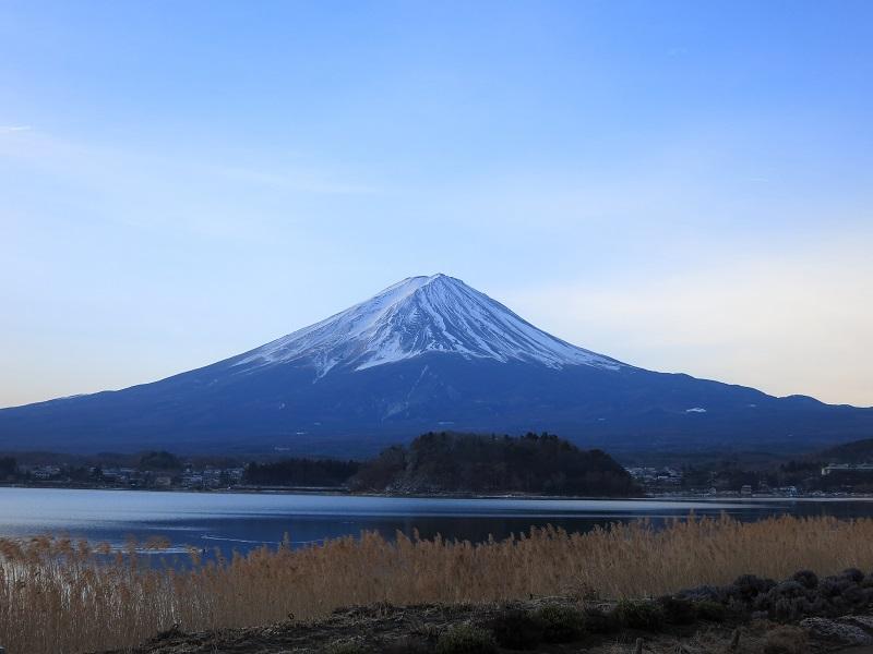 大石公園からの富士山