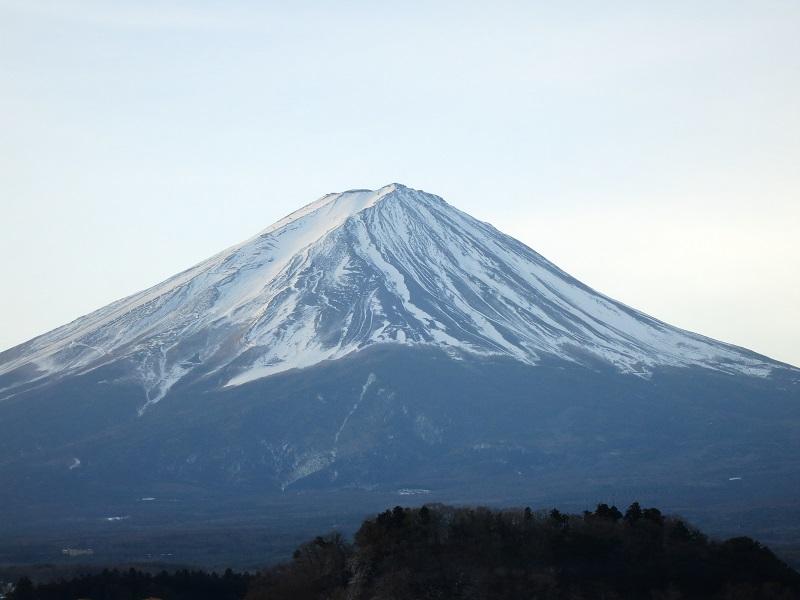 大石公園から富士山激写