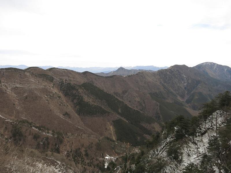 黒岳方面の縦走路