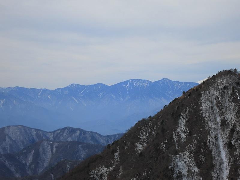 南アルプス十二ヶ岳周辺景色