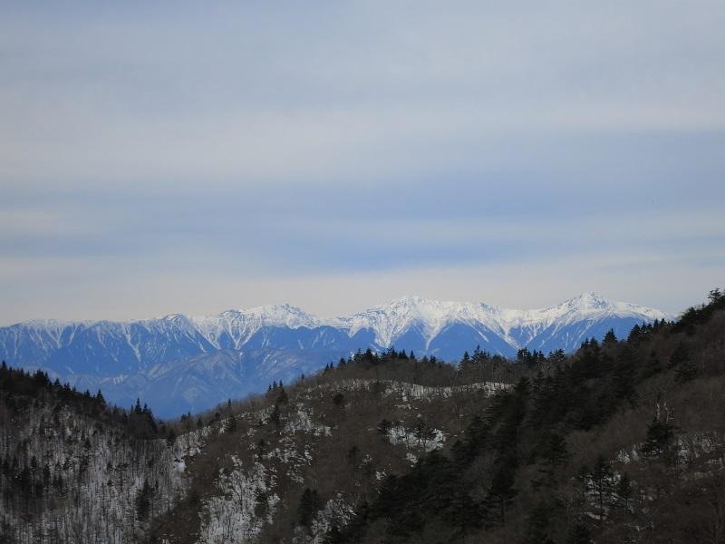 十二ヶ岳から金山を目指し