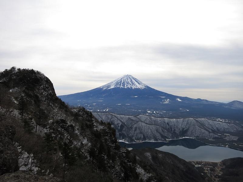 日本一と十二ヶ岳との夢のコラボ西湖