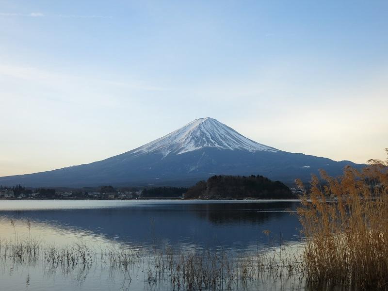 御坂山塊富士山