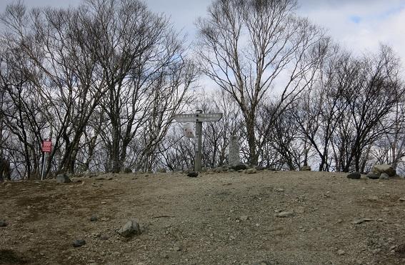 鷹ノ巣山避難小屋から、七ッ石山まで地味なアップダウン