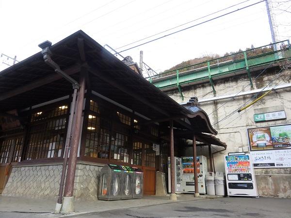 御嶽駅から御嶽神社登山スタート