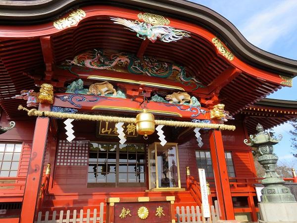 御嶽神社で参拝