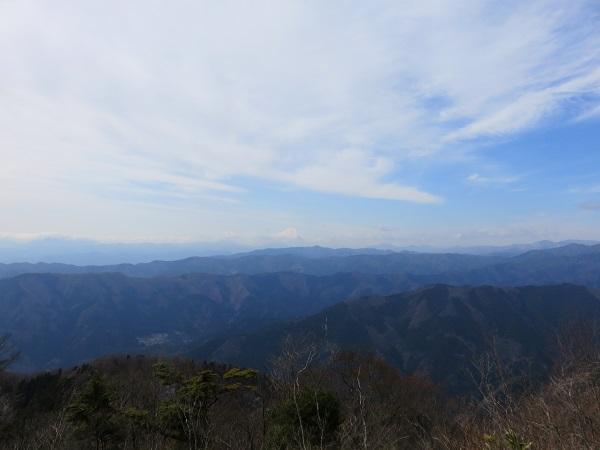 大岳山は良い景色の山頂