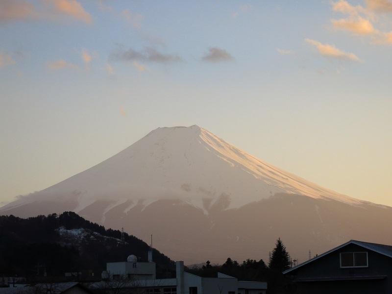 本社ヶ丸~清八山からの富士山景色