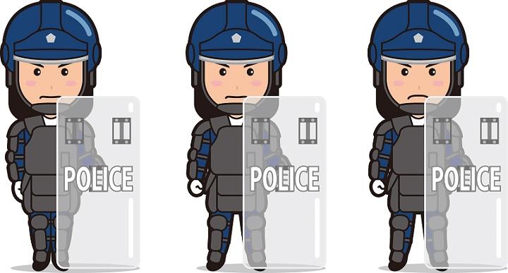警察機動隊