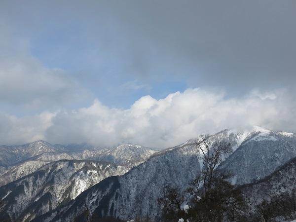 蛭ヶ岳雪景色