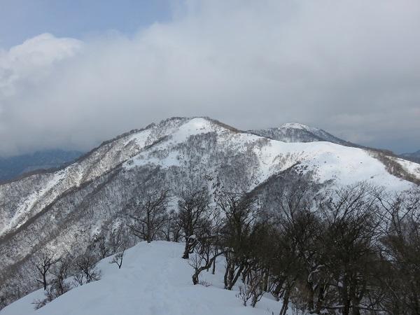 みやま山荘から蛭ヶ岳