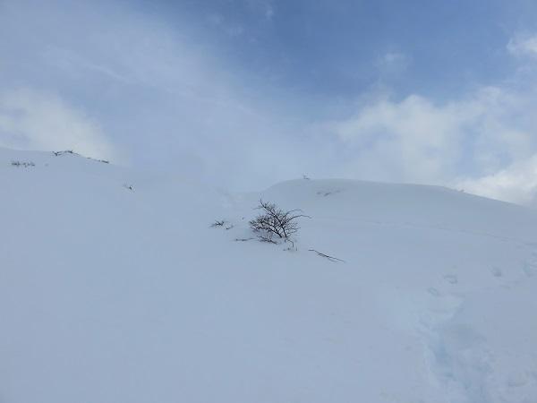 丹沢とは思えない雪景色