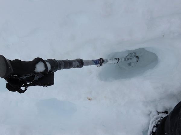 スノーバスケット雪山