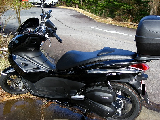ホンダPCXのバイク