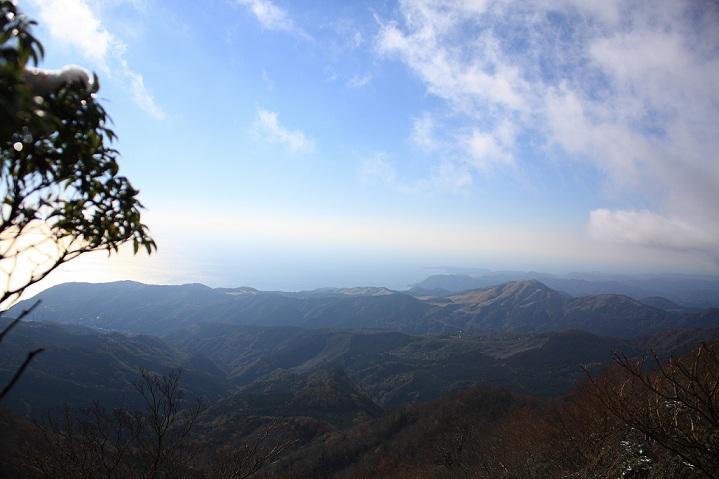 天城山脈雄大な伊豆半島