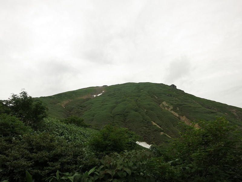 谷川岳遠望
