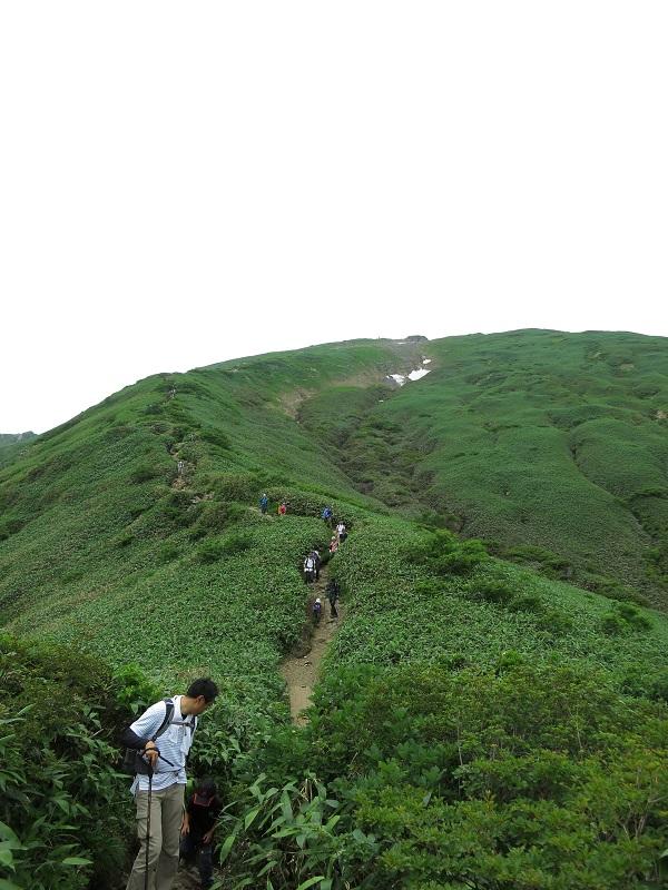 谷川岳登山者