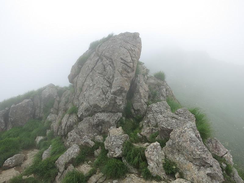 谷川岳オキノ耳景色