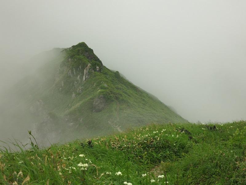 谷川連峰主脈縦走路