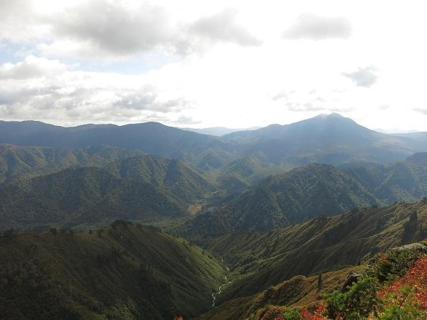 平ヶ岳からの景色