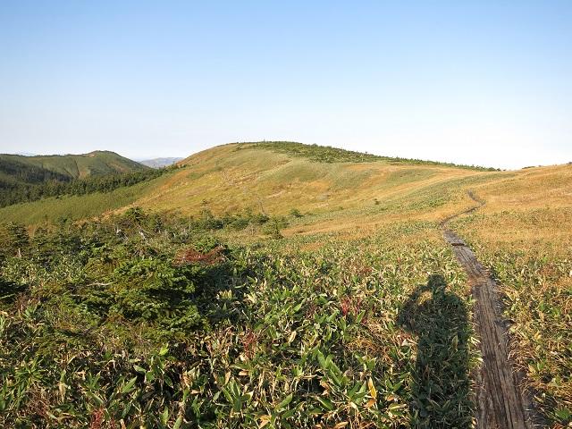 たまご石方面の風景